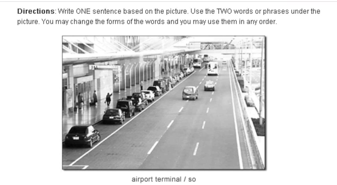 出典:一般社団法人 国際ビジネスコミュニケーション協会|TOEIC® Speaking & Writing Tests Sample